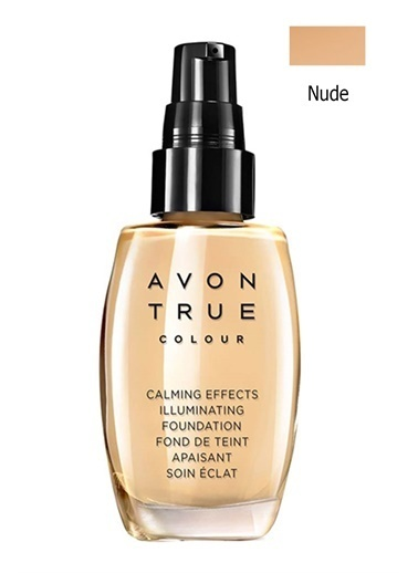 Avon Calming Effects Fondöten 30 Ml Nude Ten